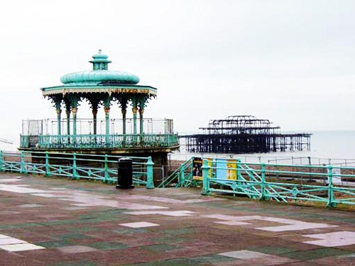 Brighton Bandstand Slide Two